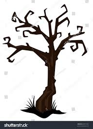 halloween spooky tree silhouette halloween gnarled trees silhouette clipart collection