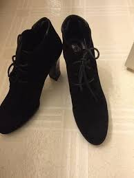 tods womens boots uk cheapest sale tods lace up black suede platform heels