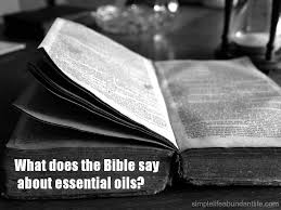 bible quote gifts talents what does the bible say about essential oils simple life