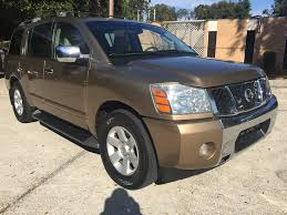 nissan armada for sale jacksonville 2004 nissan armada suv in florida for sale 68 used cars from 3 943