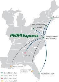Allegiant Air Route Map Exodus Of Low Fare Carriers Leads To Passenger Declines At Newport