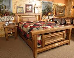 Natural Pine Bedroom Furniture by Rustic Wooden Bedroom Furniture Modrox Com