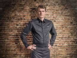 clement veste cuisine veste de cuisine clément modèle noir