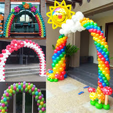 Balloon Arch Decoration Kit Aliexpress Com Buy 3m X 4m Balloon Arch For Wedding Party Event