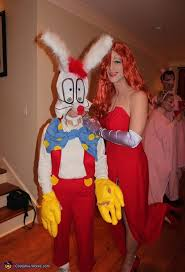 Halloween Costume Jessica Rabbit Jessica U0026 Roger Rabbit Couple U0027s Halloween Costume Idea