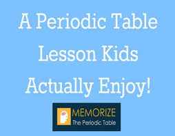 Learning The Periodic Table A Periodic Table Lesson Kids Actually Enjoy The Homeschool
