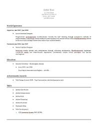 Examples Of Online Resumes by Free Resume Examples Sample Resume 85 Free Sample Resumes By