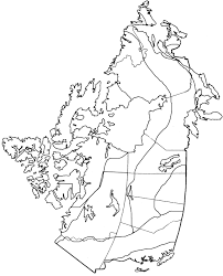 Physical Map Of Canada 6 climate regions map jpg kids can color and label great