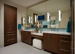glamorous bathroom sconce lights large mirror and sink clean with