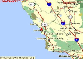 mapquest california morro bay road map