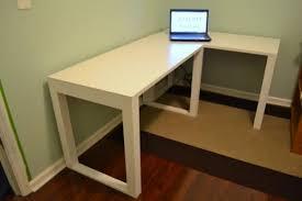 Simple Desks For Home Office Diy Plans For A Corner Desks Enchanting Home Office Free Regarding