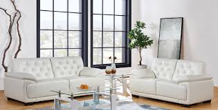 livingroom ls living room sets neptune white sofa loveseat set