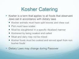 kosher chagne chapter 13 accessory services and special requirements ppt