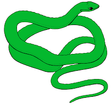 snake clip art black and white free clipart images 2 clipartix