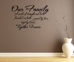 family quote wall decals daily quotes of the life family quote wall decals family circle quotes quotesgram