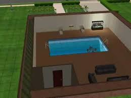 2 house with pool sims 2 house i built with a basement