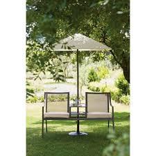 Homebase Bistro Table Rimini Garden Furniture Companion Set With Parasol At Homebase