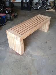 diy outdoor 2x4 slat bench best made plans pinterest bench
