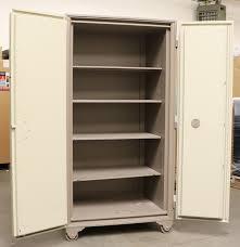 Stack On 16 Gun Double Door Cabinet Mosler Big Double Door Fire Safe Used Used Safes