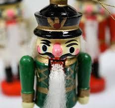 miniature wooden soldier nutcracker ornaments