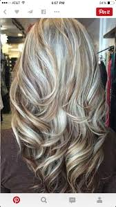 silver hair with blonde lowlights love this hair color hair pinterest hair coloring hair style