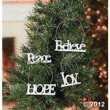 bling word ornament inspirational word ornaments