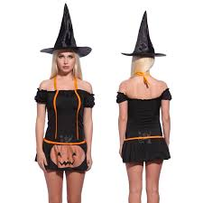 women halloween wicked witch costume role play party fancy