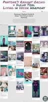 pantone u0027s radiant orchid u0026 dulux u0027 teal living in decor harmony