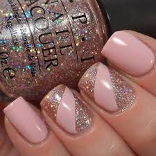 best 25 pink glitter nails ideas on pinterest acrylic nails