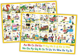 jolly phonics letter sound wall charts in print letters jolly