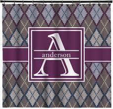 knit argyle shower curtain personalized potty concepts
