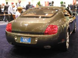 bentley continental gt wikipedia file 2009 gray bentley continental gt rear jpg wikimedia commons