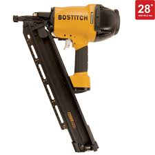 Coil Nails Home Depot by Bostitch 28 Degree 2 In 3 1 2 In Wire Weld Framing Nailer