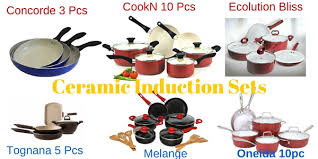 Non Stick Pan For Induction Cooktop 6 Best Non Toxic Ceramic Induction Cookware Sets To Use With