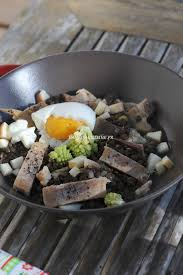 cuisine maquereau salade de lentille beluga maquereau fumé et oeuf mollet
