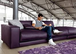 Oversized Leather Sofa Purple Leather Sofa By Ditre Italia Blob Oversized