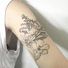 June Flower Tattoos - 197 best flower tattoos images on pinterest drawings mandalas
