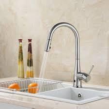 brushed nickel kitchen faucets you u0027ll love wayfair