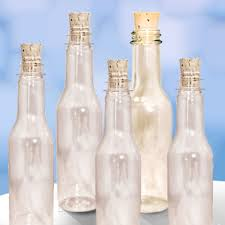 amazon com 20 plastic bottles u0026 corks for message in a bottle