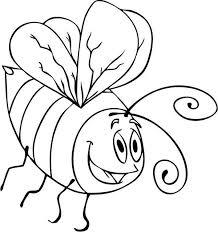 drawing cartoon bumblebee coloring download u0026 print