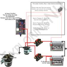 dual battery solenoid isolator wiring diagram wiring diagram and
