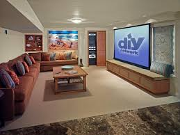 long narrow living room with fireplace in center tips for designing the ultimate media room diy network blog