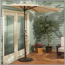 Half Umbrella Patio Patio Half Umbrella Home Design Ideas And Pictures