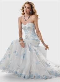 wedding dress with blue vosoi com