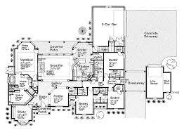 house plans one level one level executive house plans home deco plans