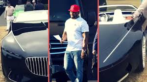 50 cent buys new 2018 mercedes maybach 6 all black fresh off the