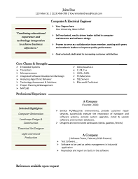 Resume Samples Electrical Engineering by Download Resume For Electrical Engineer Free Resume Example And
