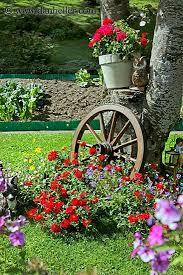 pretty flower beds