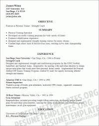 physical training instructor resume sample resume for zumba