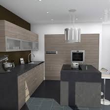 cuisine bois gris moderne decoration snack moderne idées décoration intérieure farik us